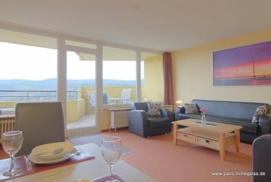 Genialer Ausblick - 2 Zi-Apartment