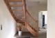 Treppe ist eingebaut