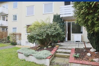Bremerhaven-Twischkamp: Wohnung mit Terrasse und Balkon