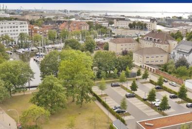 Bremerhaven-Geestemünde: Weitreichende Aussichten