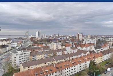 Bremerhaven-Geestemünde: Fantastische Weitsicht