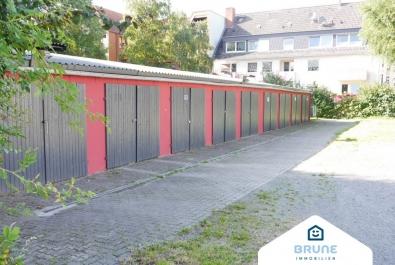Bremerhaven-Lehe: Garagenhof