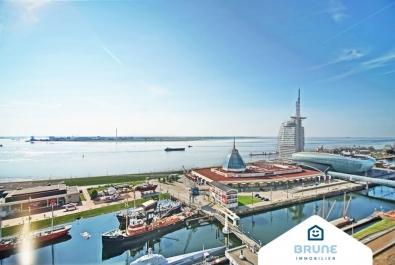 Bremerhaven-Mitte: Sich einen der schönsten Ausblicke sichern!