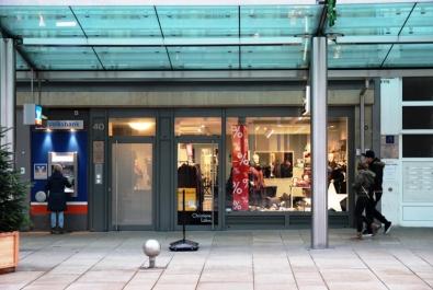 TOP-Ladenfläche in der Fußgängerzone